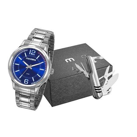 Relógio Masculino Mondaine Analogico 83417G0MVNA2K1