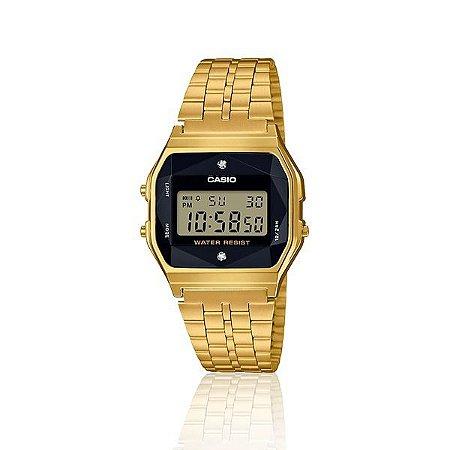 Relógio Casio Unissex Digital Preto Vintage