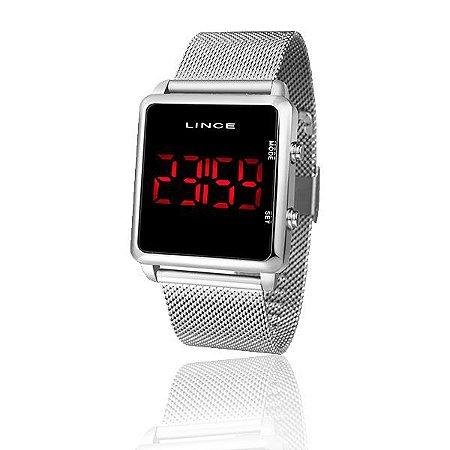 Relógio Lince LED Feminino Clássico