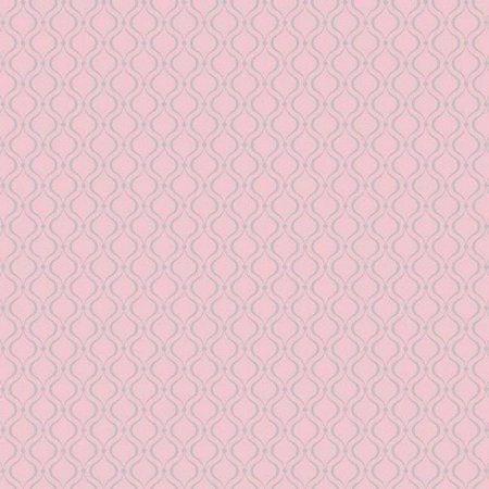 Papel de Parede Cool Kids 2240 York Geométrico Glitter Rosa