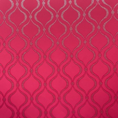 Papel de Parede Cool Kids 2243 Geométrico com Glitter Pink