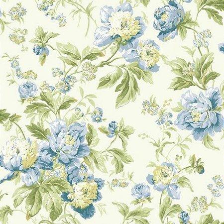 Papel de Parede Waverly WA7803 Bucalo Lavável Floral