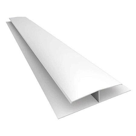 """PVC emenda tipo """"H"""" - 6 m - 14mm - (venda por peça)"""