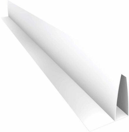 "PVC emenda tipo ""F"" - 6 m - 8 mm - (venda por peça)"