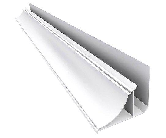 Perfil colonial para PVC - 14 mm - (venda por barra de 6m)