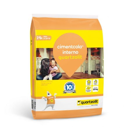 Argamassa 20kg cimentcola interno AC-I Quartzolit