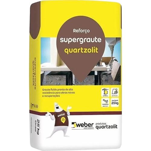 Graute 25kg Supergraute Quartzolit