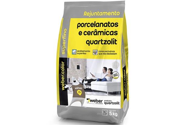 Rejunte 5kg porcelanatos e cerâmicas Quartzolit