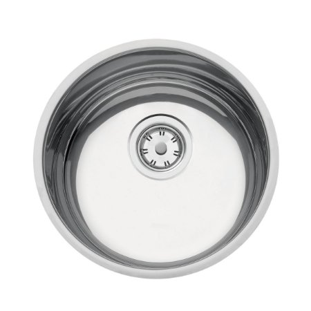 Cuba de embutir em aço inox redonda 30cm Luna 30 BL 94071507 Tramontina