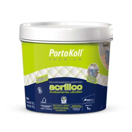 Rejunte 1kg acrílico Portokoll