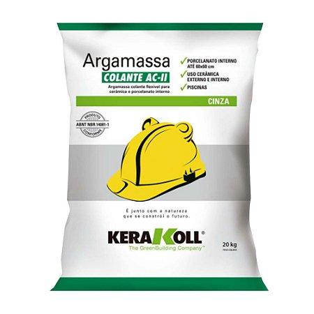 Argamassa 20kg colante AC‑II  Kerakoll
