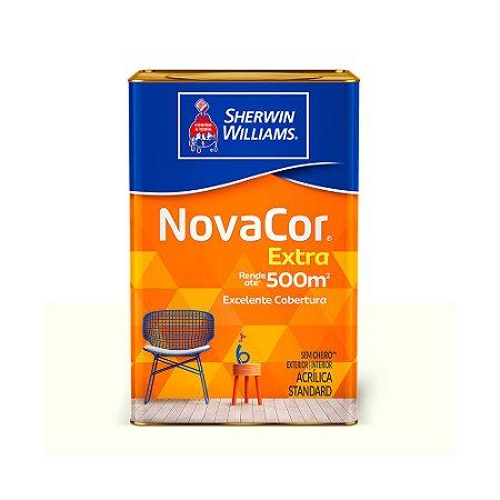 Tinta acrílica 18lt standard fosco Novacor Sherwin Williams