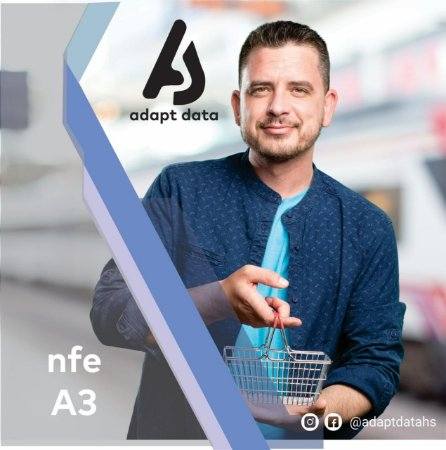 NFE|NFCE A3 DE 3 ANOS EM CARTÃO + LEITORA