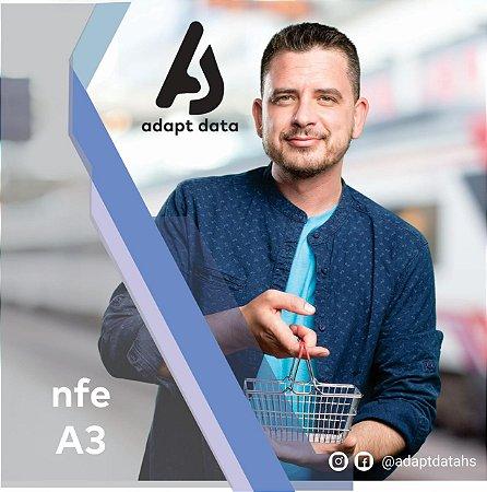NFE|NFCE A3 DE 3 ANOS EM CARTÃO