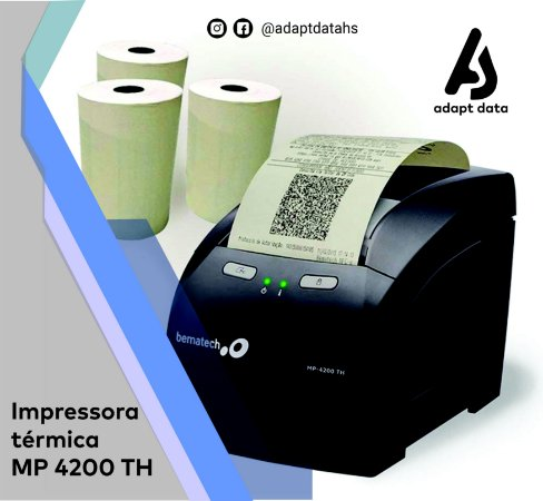 Impressora Térmica MP 4200 TH