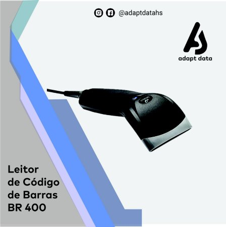 Leitor de códigos de barras BR400