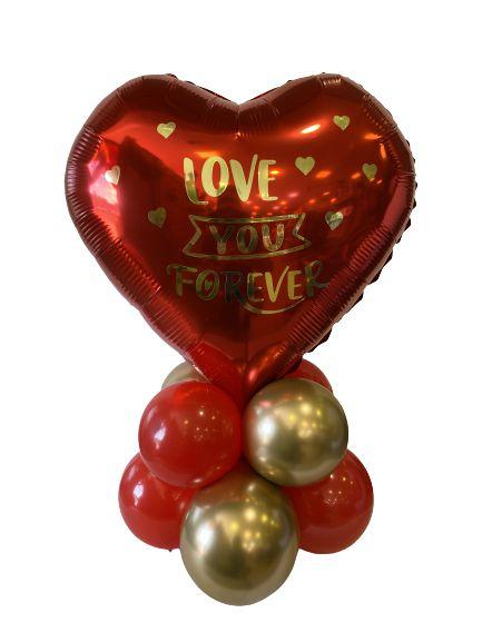 Centro de Mesa - Dia Dos Namorados - Love You Forever