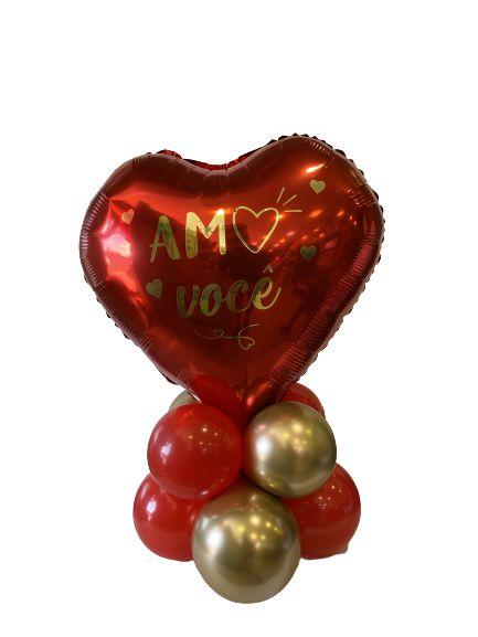 Centro de Mesa - Dia Dos Namorados - Amo Você