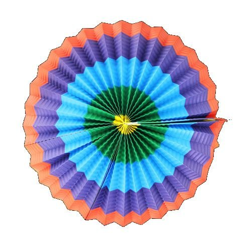 Balão Circulo De Papel Colorido 30cm