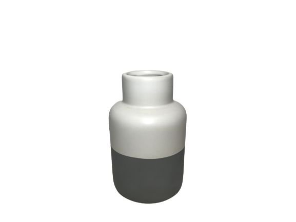 Vaso de Cerâmica Bicolor