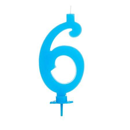 Vela Grande Azul N° 6