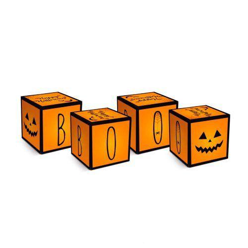 Caixa Cubo Halloween
