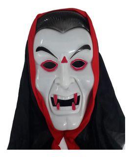 Máscara Vampiro com Capuz Halloween