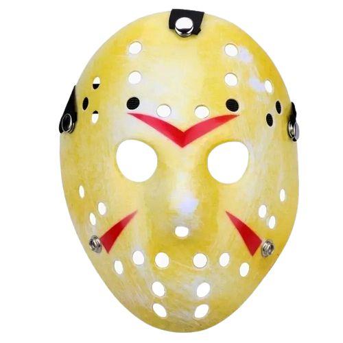 Máscara Jason Amarela Halloween