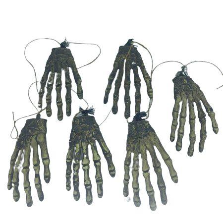 Enfeite Varal de Mãos Grande Halloween