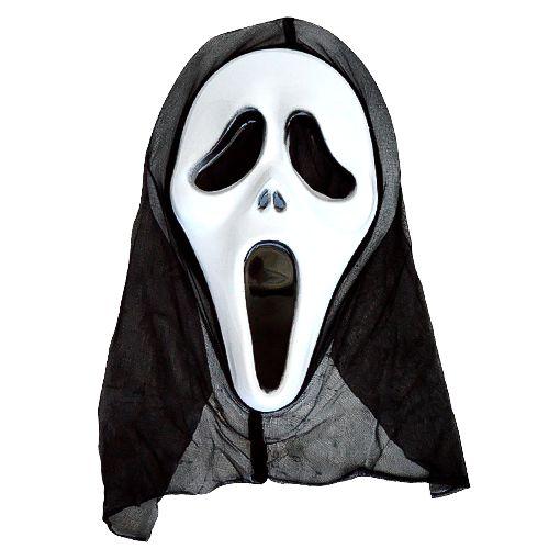 Máscara Pânico com Capuz Halloween