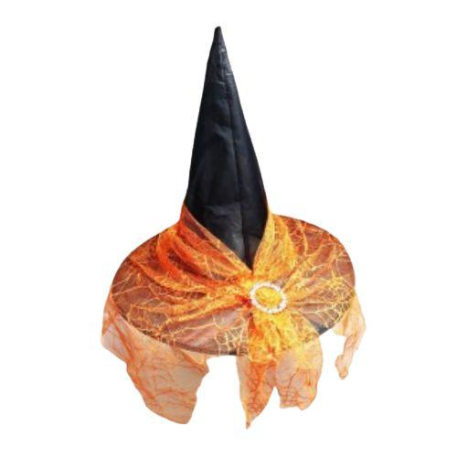 Chapéu de Bruxa Luxo Halloween