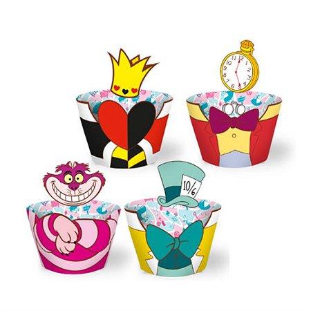 Forminha para CupCake Disney Alice no País das Maravilhas