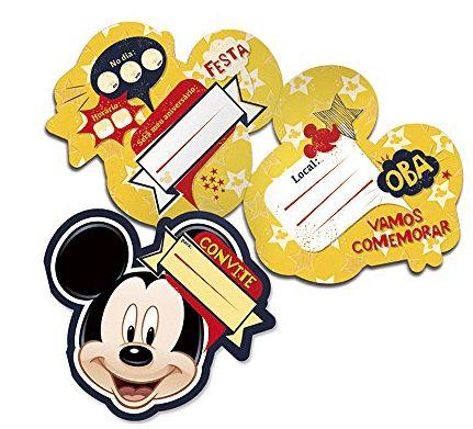 Convite Grande Mickey