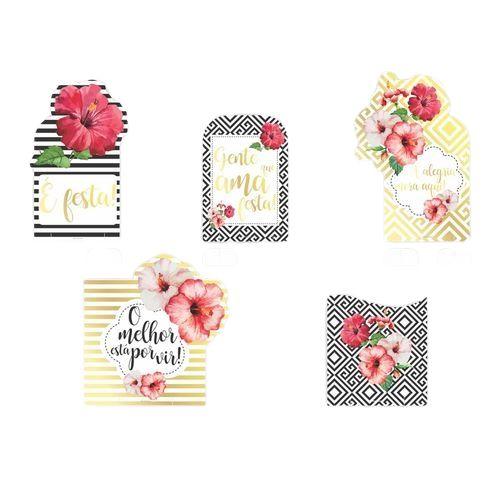 Display Decorativo Floral