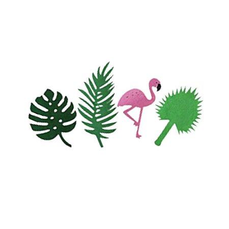Enfeite Decorativo Flamingo Tropical