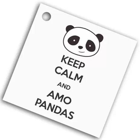 Tag Lembrancinha Panda