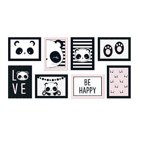 Cartaz Decorativo Panda Sortido