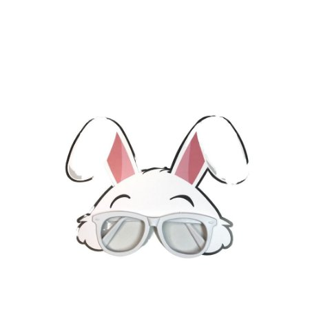 Óculos Mascara Coelho Branco