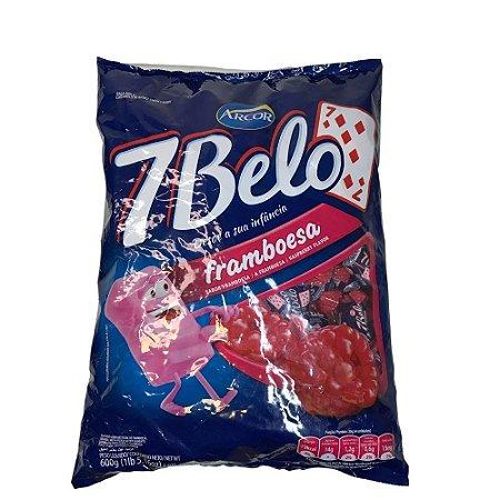 Bala Macia 7 Belo Framboesa 600 gr