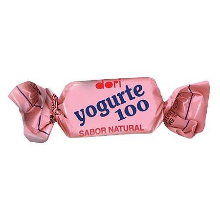 Bala Dori Yogurte 100 Morango 600 g
