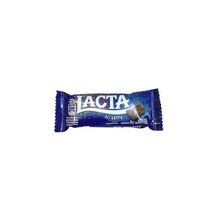 Chocolate Lacta 20 g ao Leite unidade