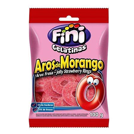Fini Aros de Morango 100 g