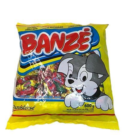 Bala Banze Macia Fruta Sortida 600g