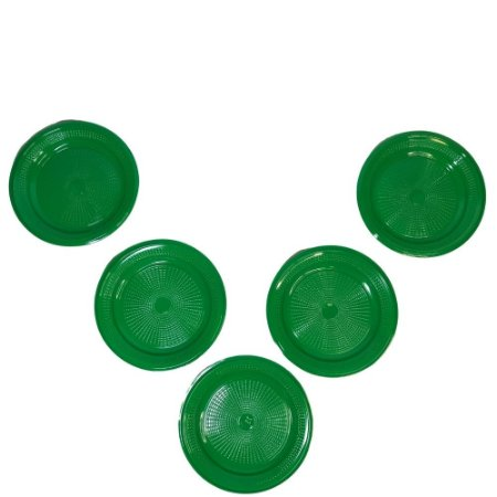 Prato 15 CM Biodegradável Verde Escuro