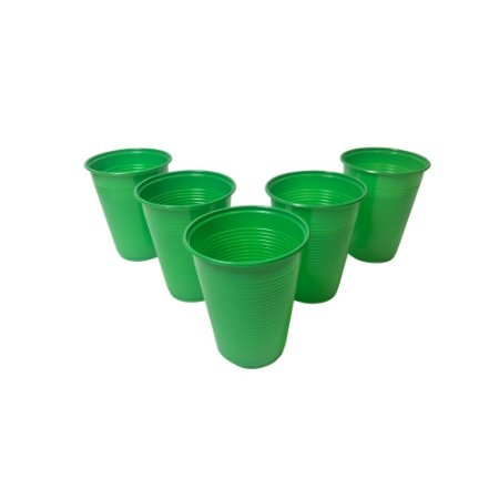 Copo 200 ML Biodegradável Verde Escuro