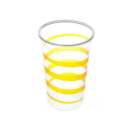 Copo Mania Festa Amarelo