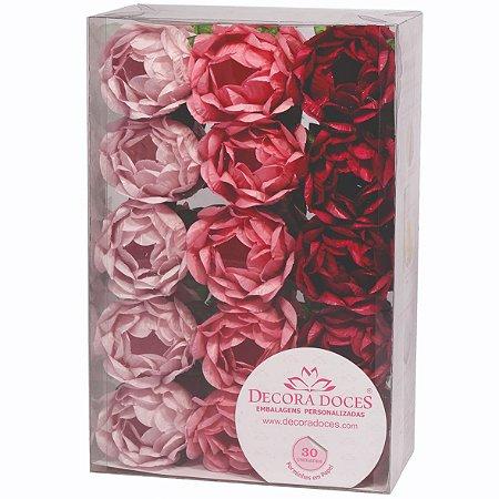 Forminha Bela Tons Rosas