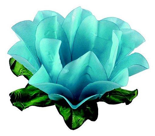 Forminha Flor Maracujá Azul Piscina