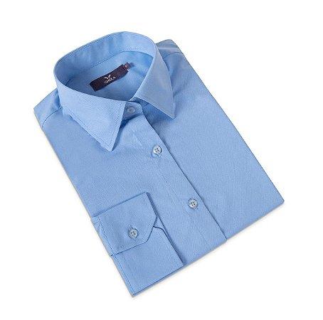 Camisa Feminina Azul