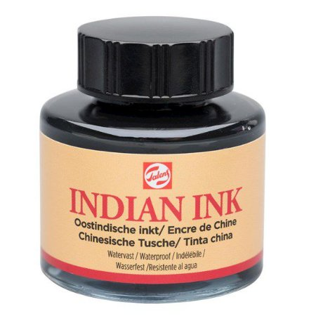 Tinta Nanquim Indian Ink Talens 30ml